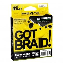 Spro Got Braid Vision Yellow